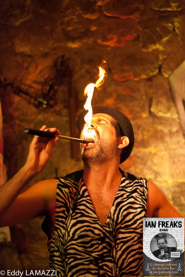 IOan Freaks bouche en feu
